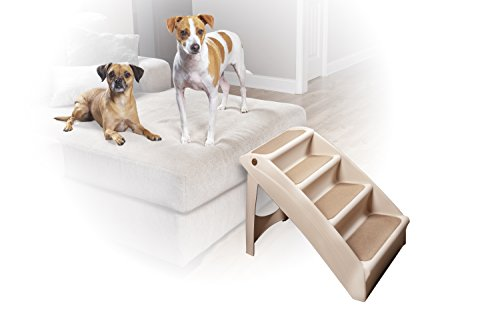 PetSafe 62460 solvit pupstep Plus mascota escaleras, color beige