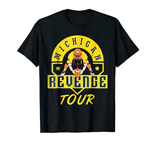 - Michigan Revenge Tour T-Shirt I Michigan football tshirt