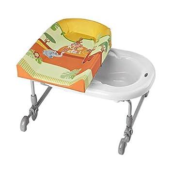 brevi 594557 ombi fasciatoio da bagno bagno time design safari kids