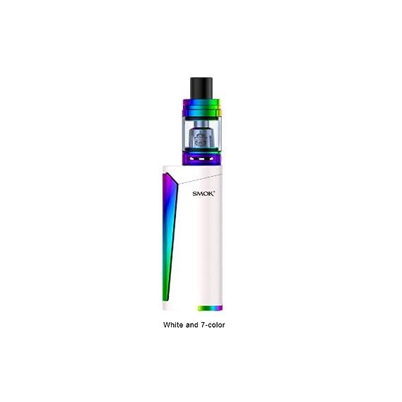 SMOK Priv V8 Kit Cigarette Electronique Kit Complet 3.0ml avec TFV8 Baby - Sans nicotine ni tabac (Blanc & 7 Couleurs)