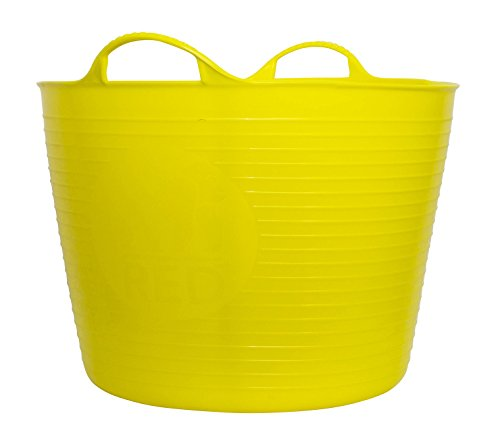 Tubtrugs SP42YF Flexible Yellow Large 38 Liter/10 Gallon Capacity