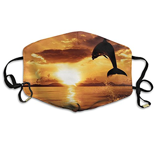 Unisex Orca Whale Exhales Sunlight Killer Washable Anti-dust Mouth-Muffle Masks Mouth Face -