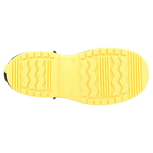 Mens Overshoes Slip Yellow On Servus amp; Black PVC Dual Bagged Compound 4 SuperFit 11003 A1RR0qw6S