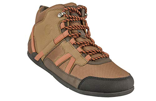 - Xero Shoes DayLite Hiker - Women's Barefoot-Inspired Minimalist Lightweight Hiking Boot - Zero Drop Trail Shoe - Mesquite/Rust