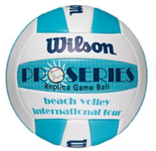 Wilson Pro Series Replica Ballon de beach volley Bleu/blanc WISL4 X5456 ballon de volley ballon de volley ball