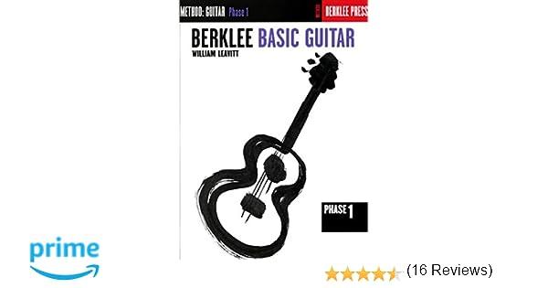 Amazon.com: Berklee Basic Guitar - Phase 1: Guitar Technique ...