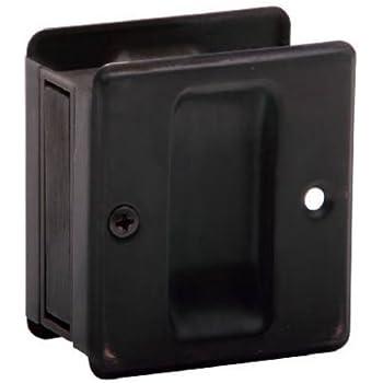 SCHLAGE LOCK SC990B-716 Sliding  Door Pull, Age Bronze
