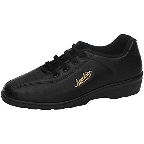 chaussures Les sport très coin confortable en de noir Alfonso de qdSdxw4g