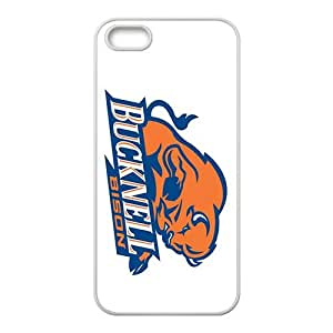NCAA Bucknell Bison White For SamSung Galaxy S6 Phone Case Cover