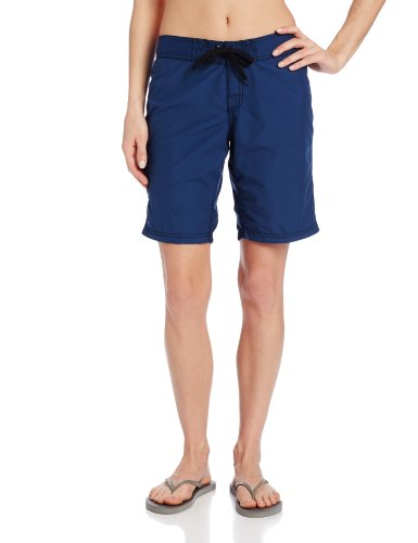 Kanu Surf Women's Marina UPF 50+ Active Swim Board Short (Reg & Plus Sizes), Navy, 14