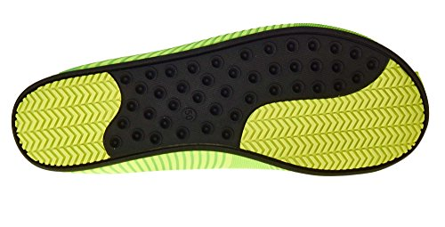 Ballop Unisex Wave Light Up Water Shoes Green