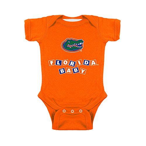 Florida Gators Blocks NCAA College Newborn Infant Baby Creeper (12 Months)