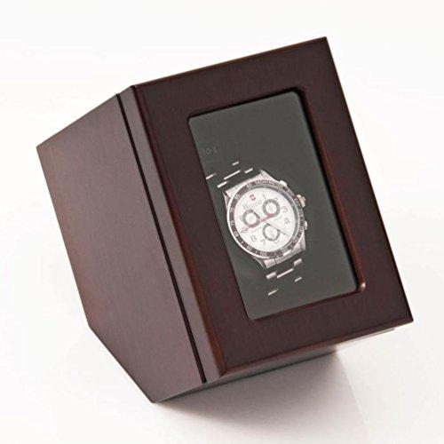 Brookstone Automatic Wooden Single Watch W