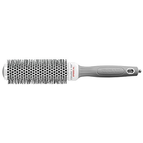 Olivia Garden Ceramic + IonTM Speed XL 35 mm - Hair Brush with Extra-Long Barrel for Larger Hair Sections, Faster Hair Drying & - Ceramic Xl