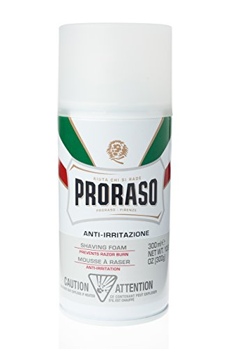 Proraso Shaving Foam, Sensitive Skin, 10.6 oz (300 ml)
