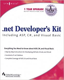 Net Developers Kit Including ASP C# and VB (.Net Developer Series) by Cameron Wakefield (2001-10-31)