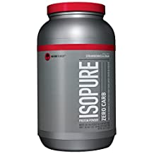 Nature's Best Isopure Zero Carb 3-Pound Strawberry, 1361-Gram