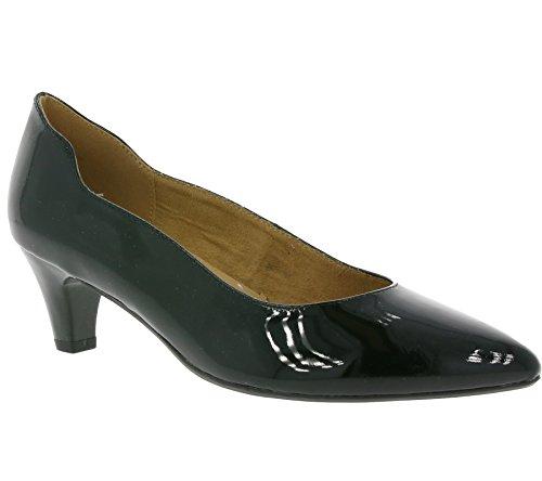 22410 29 9 018 Caprice Pompes Femmes Noir Shiny 4qCTFvw