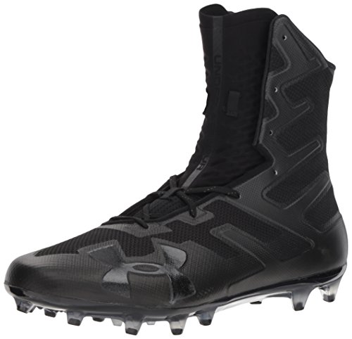 Under Armour Men's Highlight MC Football Shoe, (001)/Black, 7