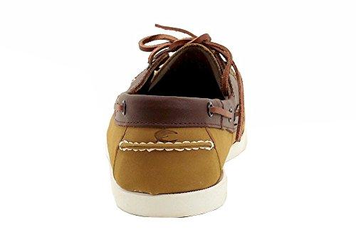Island Surf Mens Dixon Fashion Perkament / Bruine Instappers Schoenen