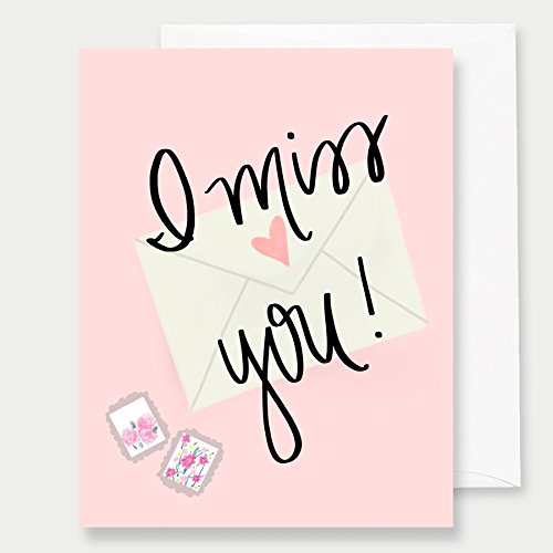 Amazon i miss you greeting card a2 greeting card love card i miss you greeting card a2 greeting card love card quote card notecard anniversary greeting cards notecards miss you cards thinking of you card m4hsunfo