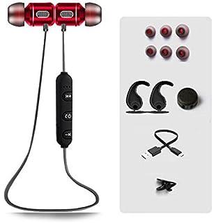 Auriculares bluetooth inalámbricos deportivos nuevos auriculares estéreo magnéticos in-ear…