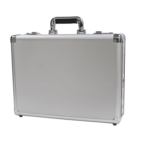 Hard Case Box - Bory Aluminum Hard Case Briefcase Silver Toolbox Professional Carrying Case Aluminum Flight Cases Portable Equiment Tool Case