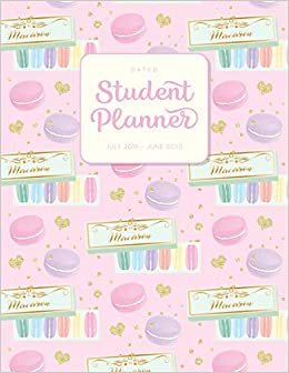 Dated Student Planner July 2019 - June 2020: High School or ...