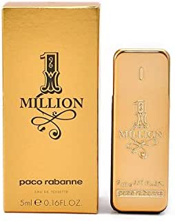 1 Million by Paco Rabanne 5 ml / 0.17 oz Men's Eau De Toilette Mini