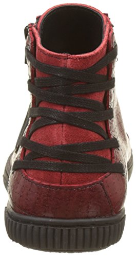 Pataugas Bey, Sneaker a Collo Alto Donna Rouge (Rouge)
