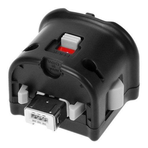 NewBull Motion Plus Adapter Sensor for Wii U Remote Controller Black