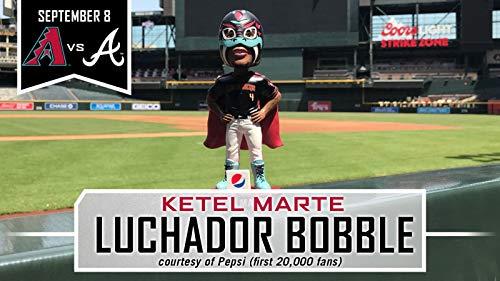 Ketel Marte Luchador Wrestler 2018 Arizona Diamondbacks Stadium Promo Bobblehead SGA