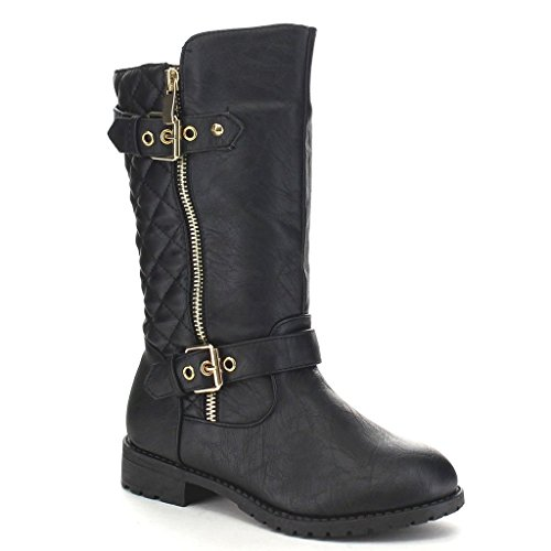 Riding Gold Kids Top Black 95k Pack Girls Lucky Boots Zipper XOq4w
