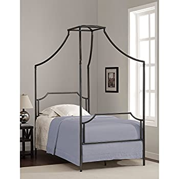 this item metro shop bailey twin size metal canopy bed bailey twin size bed - Twin Size Canopy Bed Frame