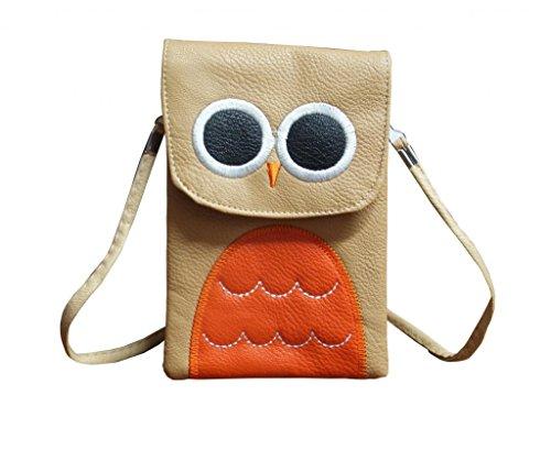 Jessidress Tasche Mädchen Handtasche Kindergartentasche Schultertasche Handtasche Braun