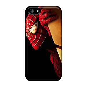 Sanp On Cases Covers Protector For Iphone 5/5s (spiderman)