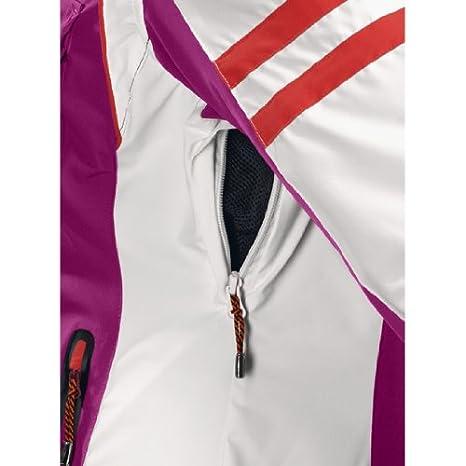 Exxtasy - Bennet - Damen Skijacke Purple/Weiß/Orange 34