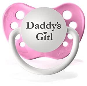 Amazon.com : Daddy's Girl (Pink) Pacifier : Baby Pacifier
