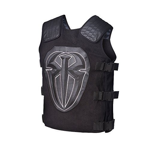 Roman Reigns WWE Authentic Tactical Replica Vest,One (Roman Reigns Costume)
