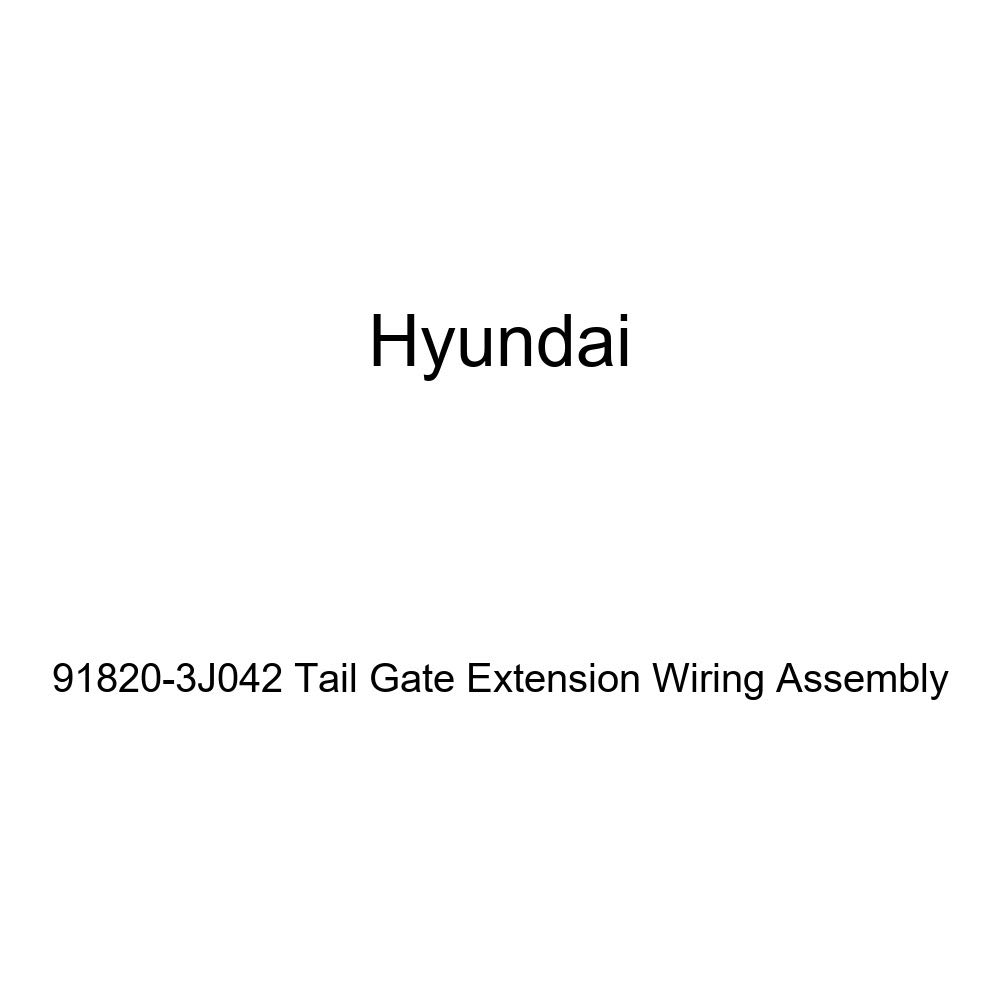 Genuine Hyundai 91820-3J042 Tail Gate Extension Wiring Assembly