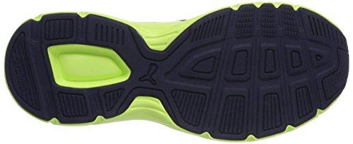 Puma Axis v3 Mesh - zapatillas deportivas de material sintético unisex azul - Blau (peacoat-white 03)