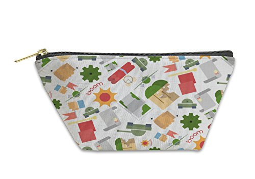 Gear New Accessory Zipper Pouch, Funny Pattern Military, Small, 3660386GN