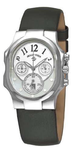 Philip Stein Women's 22-FMOP-IB Classic Chronograph Dial Watch
