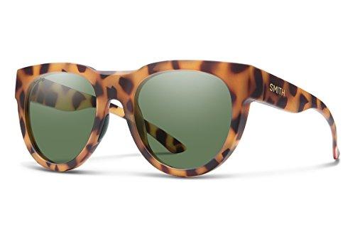 Polarized Gray Green - Smith Crusader Chromapop Polarized Sunglasses, Matte Honey Tortoise, Chromapop Polarized Gray Green
