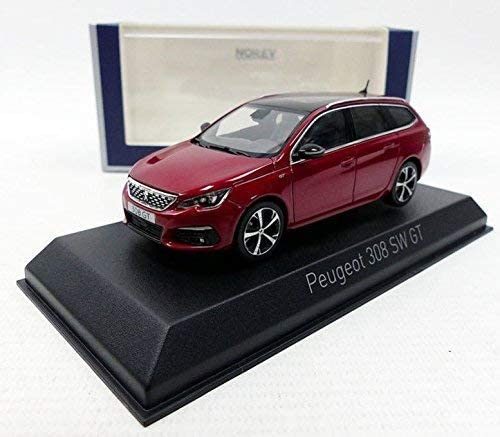 Echelle 1//43 Peugeot 308 SW GT 2017 Ultimate Red  NOREV NO 473817