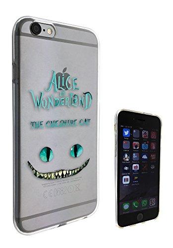 c0142 - Alice in Wonderland The Cheshire Cat Design Pour iphone 5C Protecteur Coque Gel Rubber Silicone protection Case Coque