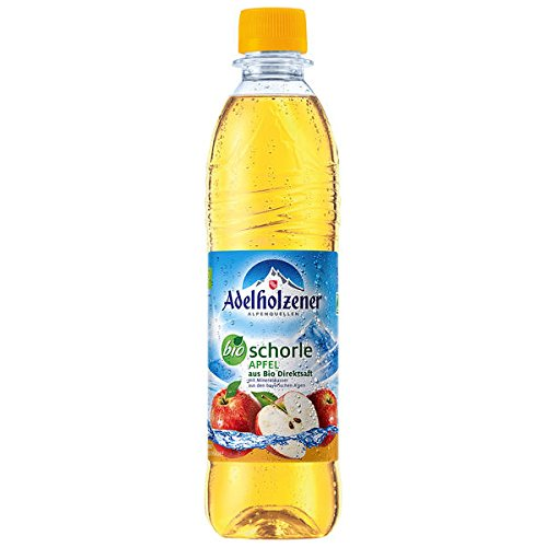 Adelholzener BIO Apfelschorle Apple Pack of 12 x 500ml