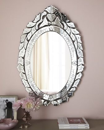 Venetian Design Mirror For Living Room