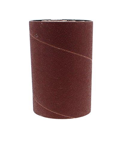 "120 Grit Sleeves - ABN Aluminum Oxide Spindle Sanding Sleeves 6-Pack, 120-Grit, 4.5"" Inch Length – 1/2"