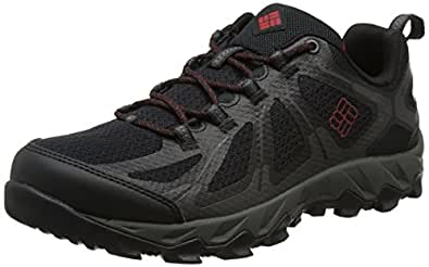Columbia Peakfreak Xcrsn Ii Xcel Low Outdry, Zapatillas de Deporte para Exterior para Hombre, Rojo (Rocket/Red Velvet), 45 EU amazon-shoes Impermeable